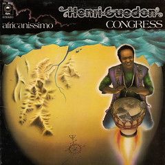 Henri Guedon Congress - Africanissimo (oopswhoops) Tags: french martinique album vinyl antilles percussions