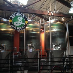 Brooklyn Brewery, Williamsburg!