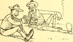 "Image from page 14 of ""Training for the trenches; a book of humorous cartoons on a serious subject"" (1917)"