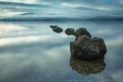 Loch Lomand dusk (Tom_Sugden) Tags: loch lomand scotland highlands winter snow