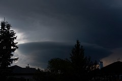 The invasion 1 (bichane) Tags: storm thunderstorm swirling cloud late day disc rotation flat