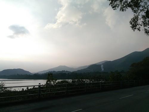 Ting Kok Road - Guan Yin Statue View 2