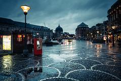 Blue Monday (Gilderic Photography) Tags: liege belgium belgique belgie rain monday blue pluie mood wet city panasonic ludic lx100 gilderic