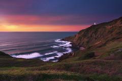 Cabo Billano (BIZKAIA) (Jonatan Alonso) Tags: gorliz cabobillano bizkaia sunset coast lighthouse