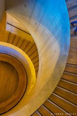Going Down (James Neeley) Tags: london tatemodern spiralstairs abstract shape jamesneeley