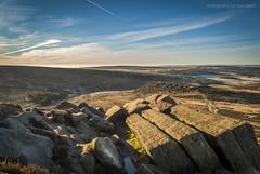 Kit Kat Stones (marc_leach) Tags: landscape scenic peakdistrict darkpeak moorland morning light sky clouds rocks grass hill higgertor hathersage sheffield derbyshire nikon nationalpark
