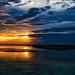 Sonnenuntergang am Hin Kong Beach Thailand
