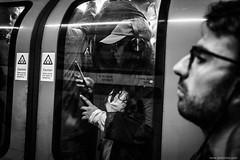 morning in the city (jrockar) Tags: street streetphoto streetphotography bw mono blackandwhite london bank station underground tube transport commute morning rush hour people candid moment instant snap x100f holyf fuji jrockar janrockar idiot ordinary madness ordinarymadness city urban metropolis