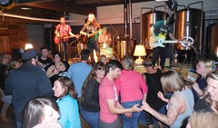 Whiskey River Band - Apr 8, 2017 (Jeffxx) Tags: jack mattingly whiskey river april 2017 bastion audience dancer dance brewing live music band skagit