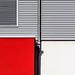 MinimalUrban (Lunor 61) Tags: abstract abstrakt minimal minimalismus minimalistisch urban city building facade fassade tube metall metal lines linien textures shadow red rot weis white architecture architektur ireneeberwein