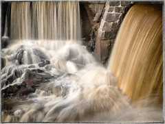 Spring Falls (BigWhitePelican) Tags: helsinki finland vanhankaupunginlahti waterfall water nature canoneos70d adobelightroom6 niktools 2017 april