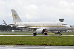 HZ-SKY4  A319-115ACJ (n707pm) Tags: hzsky4 airbus a319 319acj 319115 airport aircraft airplane corporate exec einn coclare rineanna shannonairport ireland cn6727 05032017 snn