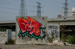 涂鸦1 (vincentlonglois) Tags: scrawl outdoor abandoned