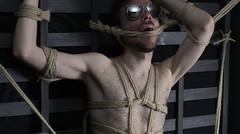 d-gafas 1 (shibarigarraf) Tags: shibari bondage shibarigarraf male skin glasses rope