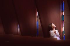 Easter (Jennifer Blakeley) Tags: easter girl church jesus portrait windowlight stainedglass quiet meaningful dramatic dreamy communion god