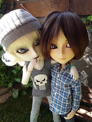 Liam y Aaron Horner (Lunalila1) Tags: doll groove junplaning taeyang nosferatu liam horner handmade outfit costura arion aaron