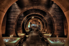 Tao Tunnel (snaphappyd) Tags: las vegas night photography time after dark 5dmk3 tao hdr nevada venetian hotel casino