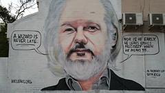 Lush... (colourourcity) Tags: streetart streetartnow streetartaustralia graffiti melbourne burncity awesome colourourcity nofilters lush lushsux assange wikileaks