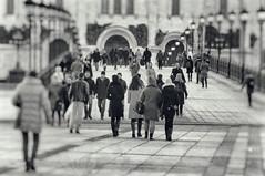 ЧЕРНО-БЕЛАЯ МОСКВА / BLACK AND WHITE MOSCOW (Павел Ныриков) Tags: город москва весна черное белое россия москвасити здания дома city moscow spring black white russia within buildings houses bw