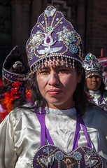Cusco Festival 4 (kate willmer) Tags: woman people portrait costume parade hat festival cusco peru
