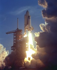 #TBT: First Space Shuttle Mission, STS-1, Launches -- April 12, 1981 (NASA's Marshall Space Flight Center) Tags: nasa nasas marshall space flight center shuttle columbia history