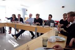 Det var också Regional Kyrkoledar-Middag med Lena Bergström som är kyrkoledare i region nord. Vi var många som åt pizza med henne!