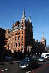 St Pancras railway station.  London, UK.  March 24 2017. (Dan Haneckow) Tags: 2017 stpancras depots london
