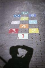 What number is mine...? (PaulHoo) Tags: film analog leica c1 afga vista lightroom vignette vignetting amsterdam city urban shadow fun humor number age wondering remember digit