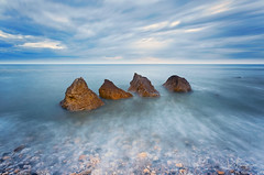 Four (© Ian Flanagan) Tags: trow point grahamssands sunrise landscape sea seascape longexposure rocks tide
