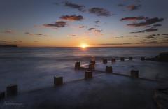 Expectation (Crouchy69) Tags: sunrise dawn landscape seascape ocean sea water coast clouds sky ross jones memorial pool coogee beach sydney australia