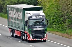 Eddie Stobart 'Davinia Wendy' (stavioni) Tags: esl eddie stobart group truck trailer lorry davinia wendy h4468 kx65oyn volvo fh fh4 460