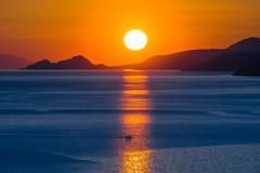 Another magical sunset (Vagelis Pikoulas) Tags: sun sunset boat sea seascape landscape porto germeno greece europe 2017 april spring canon 6d tamron 70200mm vc