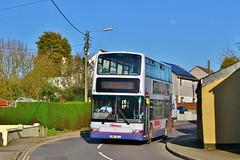 First Kernow 33067 LN51GLJ - St Columb Road (KA Transport Photography) Tags: first kernow 33067 ln51glj st columb road