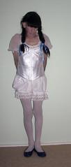 corsetted (marcia2015au) Tags: petticoatpunishment sissy crossdresser crossdressing dressing cosplay petticoats littlegirl adultlittlegirl partydress partyfrock