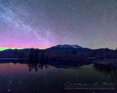 Mt Katahdin (Christopher A Mills Photography) Tags: astrophotography beautiful stars nights christopheramills mountains northernlights maine