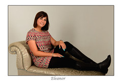 Eleanor (Ben Nevis 1960) Tags: eleanor relaxed relaxing female person young lady beauty beautiful pretty gorgeous chezlong sofa studio fashion nicolsstudio grays essex black hair boots leggins nails polish polished steam punk steampunk