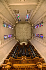Duke Chapel Entry (nydavid1234) Tags: nikon d600 nydavid1234 duke dukechapel durham architecture architecturaldetail architectural cathedral stainedglass landmark church chapel gothic netgothic neogothic perspective organ organpipes symmetry dukeuniversity bluedevils