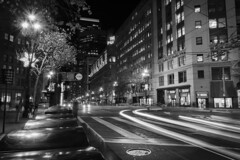 SAN FRANCISCO - KEARNY (juanmarioduque) Tags: california blancoynegro blackandwhite sanfrancisco street city ciudad longexpousure monocromatico noche monocromatic
