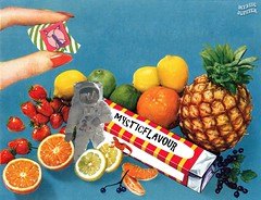 MYSTICFLAVOUR (MYSTIK JUUPITER) Tags: flavour collage art collageart mystic fruits lsd