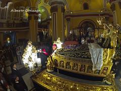 Viernes Santo 2017 (Alberto Gonzaga Ramiro) Tags: zaragoza spain viernes santo procesion del entierro arzobispo de vicente jimenez zamora alberto gonzaga semana santa fish eye