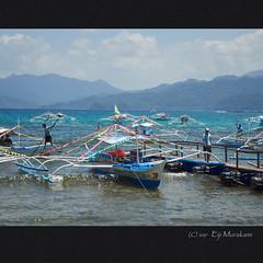 Sabang Boat Terminal (Eiji Murakami) Tags: philippines palawan sabang olympus tg4 フィリピン パラワン サバン