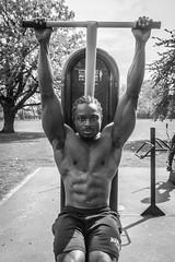IMG_6072 (Zefrog) Tags: zefrog london uk muscle man portraiture bw sixpack fit fitness blackman iyo personaltrainer bodybuilder