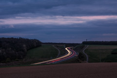 Langzeitbelichtung (Dagobert1980_GPS) Tags: autobahn langzeitbelichtung strasse licht lichtspur