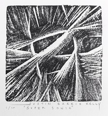 """Super sonic"" (Justin Barrie Kelly) Tags: art woodcut justinkellyartist angular wood cut woodblocks modern artwork squareformat intaglioprint hand pulled blackandwhite dynamism reliefprint woodblockprint print abstracted tonal modernart boxwood ukprintmaking abstract justinkelly futurism justinbarriekelly jbkelly justinbkelly asymmetric printmaking lines non objective abstractart nonobjectiveart futurist markmaking printing bw abstraction expressionist woodengraving"