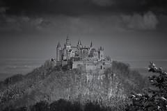 Burg Hohenzollern (dominidomk) Tags: burg castle hohenzollern alb schwäbisch germany deutschland berg gipfel zollernalb schloss zellerhorn black white schwarz weiss bw landschaft landscape baden württemberg sony alpha57