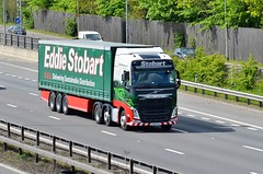 Eddie Stobart 'Gillian Joanne' (stavioni) Tags: eddie stobart truck trailer lorry esl gillian joanne h4368 kx65pcu volvo fh fh4 460