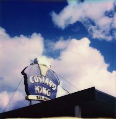 Custard King, Astoria (heather) Tags: polaroidweek roidweek polaroidweek2017 impossible 600beta3 polaroidsx70 ishootfilm custardking astoria filmisalive polaroidpals polapals