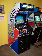 NY Rochester - Pole Position II (scottamus) Tags: classic arcade video game cabinet rochester newyork strongmuseum poleposition atari 1982