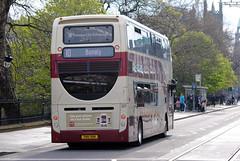 207 (Callum's Buses & Stuff) Tags: man edinburgh iron dennis hybrid lothian enviro 400h lothianbuses polworth edinburghbus madderandwhite madderwhite
