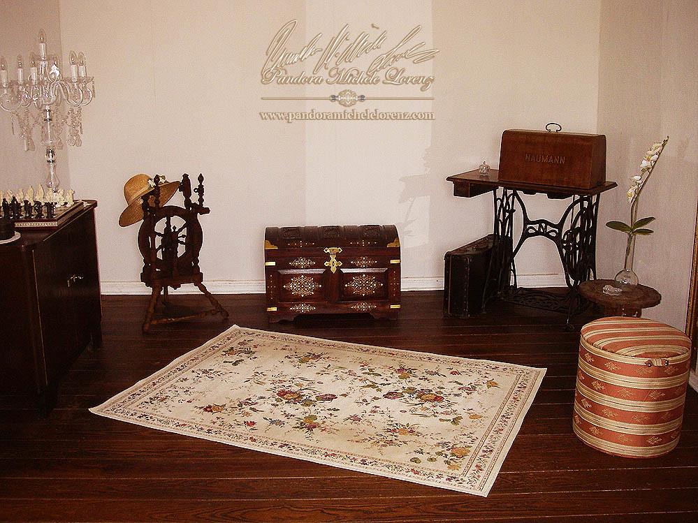 Vintage, British Colonial, Franzoesisch, Shabby Chic, Landhaus, Romantik,  Moebel,